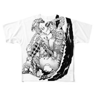 Devil girl Full graphic T-shirts