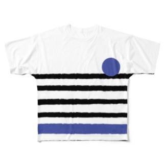 BICYCLE フルグラフィックTシャツ