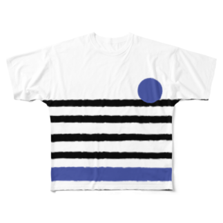 takeshitsuboiのBICYCLEフルグラフィックTシャツ