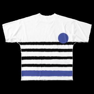 takeshitsuboiのBICYCLE フルグラフィックTシャツ