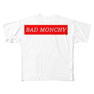 BAD MONCHY Full graphic T-shirts