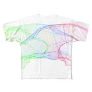 リライトして Full graphic T-shirts