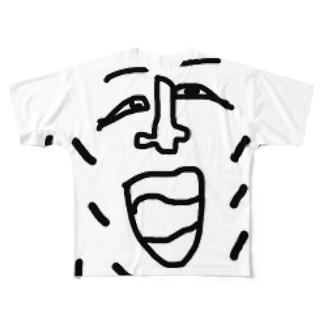 ハハハ Full graphic T-shirts