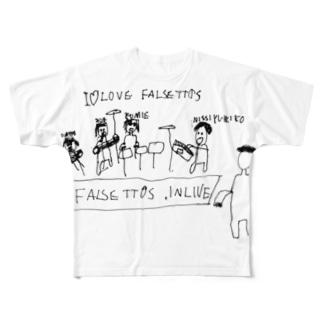 INLIVE フルグラフィックTシャツ