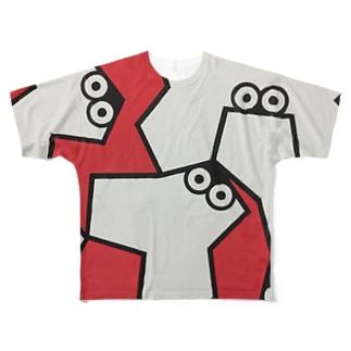 Solid flounder 1 フルグラフィックTシャツ