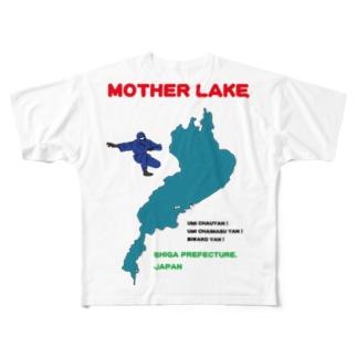 Biwako no Omoide フルグラフィックTシャツ