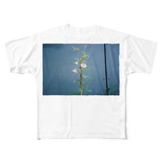 紫陽花 フルグラフィックTシャツ