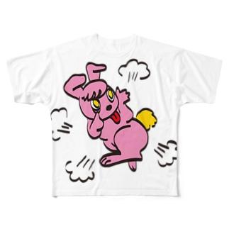 ラベットちゃん フルグラフィックTシャツ