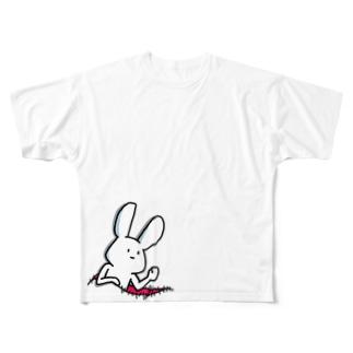 ケーキ屋さん やぁ Full graphic T-shirts