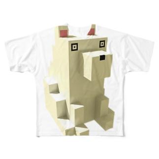 いぬ! フルグラフィックTシャツ