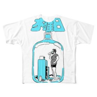 木曜日のTシャツ(カラーバージョン)) フルグラフィックTシャツ