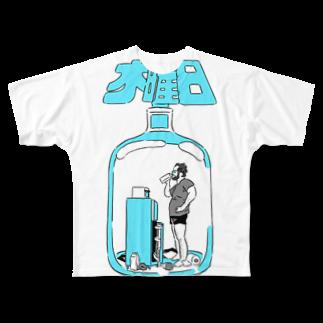 10_oioの木曜日のTシャツ(カラーバージョン))フルグラフィックTシャツ