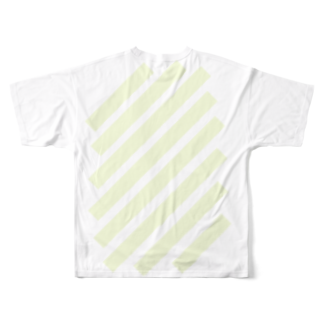 whaisonのsuzuri_fullgraphicT-template-XL_slash_lime_yellow_pale_f7fddc Full graphic T-shirtsの背面