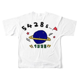 宇宙シリーズcolor1 Full graphic T-shirts