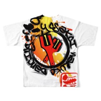 Yosakoi Naruko Dancing Full graphic T-shirts
