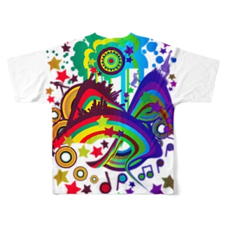 Over_The_Rainbow Full graphic T-shirts