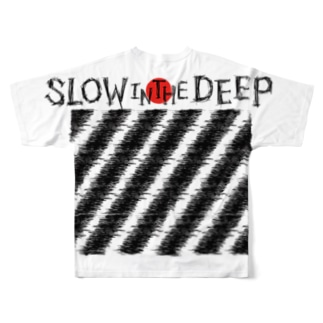 SLOW in the DEEP公式グッズ Full graphic T-shirts