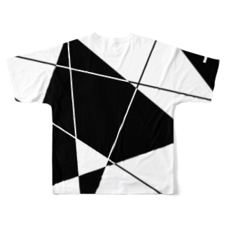 Y. CRESTのNo Asejimi - BWPC (back side) Full graphic T-shirtsの背面