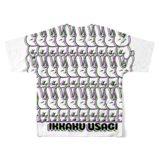 うさぎ-増殖7 Full graphic T-shirts