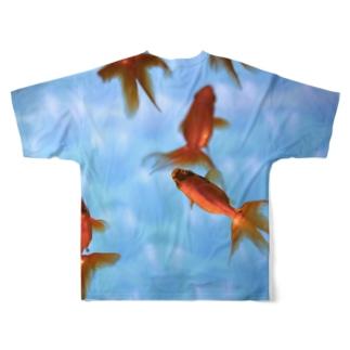 kingyo Full graphic T-shirts