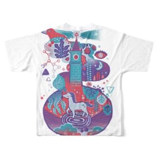Wonderland Full graphic T-shirts