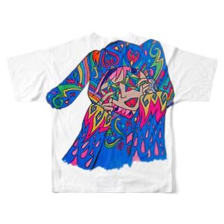 b.S Full graphic T-shirts