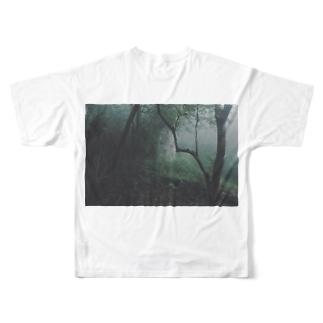 yakushima Full graphic T-shirts