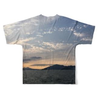 夕焼けこやけ Full graphic T-shirts