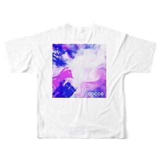こっこさんのCOCCO・C5 Full graphic T-shirts