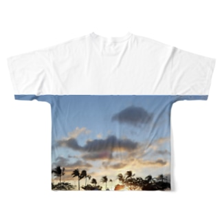 トモのサンセット Full graphic T-shirts