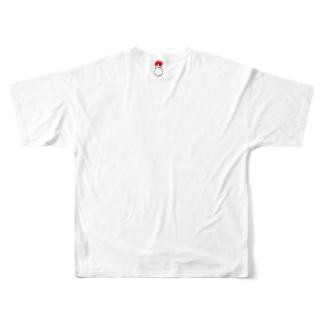 後ろ襟の指輪 Full graphic T-shirts