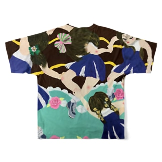 Reiwa Japan in Dance Full graphic T-shirts
