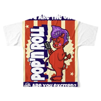 POP'N ROLLのPop'n boy01 Full graphic T-shirts