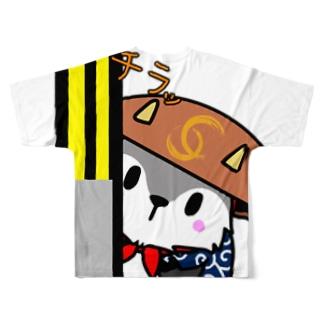 あきんどくんTシャツ(背面ver) Full graphic T-shirts