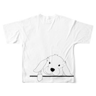 ろっぷ Full graphic T-shirts