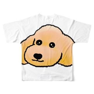 ぷーすけグッズ Full graphic T-shirts