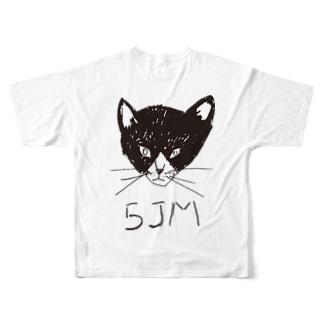 五条モール オセロ Tシャツ Full graphic T-shirts