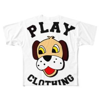 LOGO DOG BR ① Full graphic T-shirts