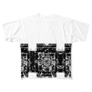 B&W Full graphic T-shirts