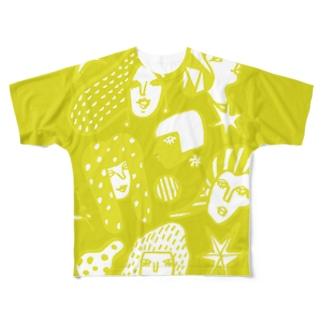 BE WOMAN フルグラフィックTシャツ