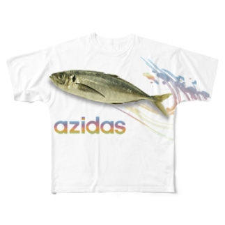 azidas Full graphic T-shirts