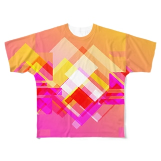 popiorenj Full graphic T-shirts