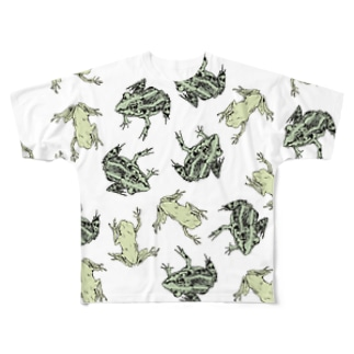 Frogs Full graphic T-shirts