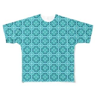 アクアボール(いるか) フルグラフィックTシャツ