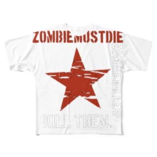 サバゲウェア Full graphic T-shirts