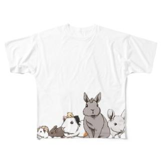 小動物ランド Full graphic T-shirts
