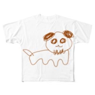 いぬだよ、 Full graphic T-shirts