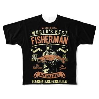 FISHERMAN Full graphic T-shirts