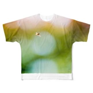 Ushun/ABU(B) Full graphic T-shirts