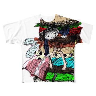 いうらくん Full graphic T-shirts